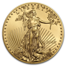 Gouden American Eagle 1/2 OZ divers jaar