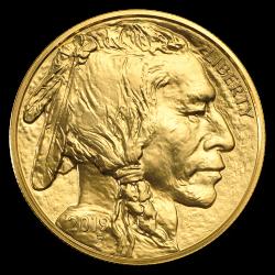Gouden American Buffalo 1 OZ divers jaar