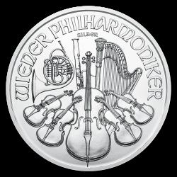 Zilveren Philharmoniker 1 OZ divers jaar