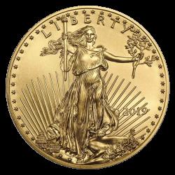 Gouden American Eagle 1 OZ divers jaar