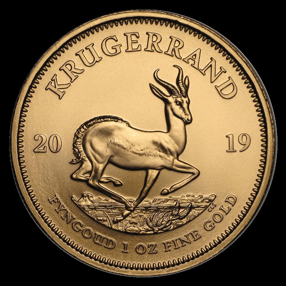 Gouden Krugerrand 1 OZ divers jaar