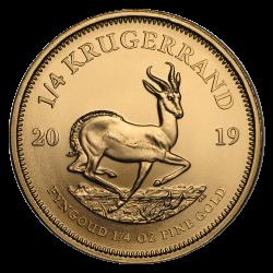 Gouden Krugerrand 1/4 OZ divers jaar