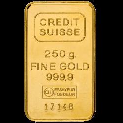 Goudbaar 250 gram diverse producenten