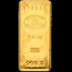 Goudbaar 1000 gram diverse producenten