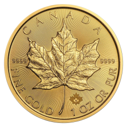 Gouden Maple Leaf 1 OZ divers jaar