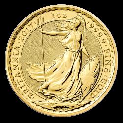 Gouden Britannia 1 OZ divers jaar