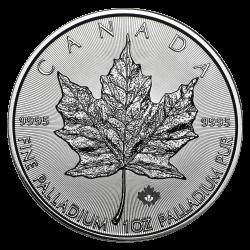 Palladium Maple Leaf 1 OZ divers jaar