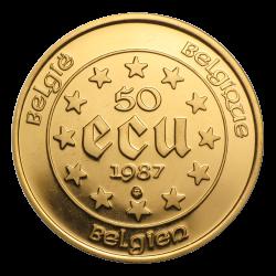 Gouden 50 ECU België divers jaar