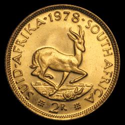 Gouden 2 Zuid-Afrikaanse rand divers jaar