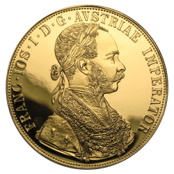 Gouden 4 ducat Oostenrijk divers jaar