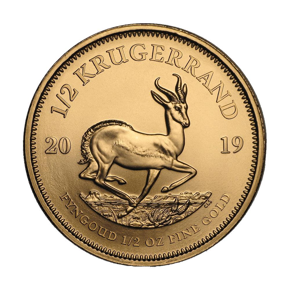 Gouden Krugerrand 1/2 OZ divers jaar