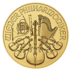 Gouden Philharmoniker 1 OZ divers jaar