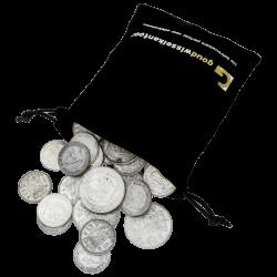 1 KG puur zilveren munten Nederland diverse jaren