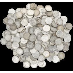 5 KG puur zilveren Nederlands munten diverse jaren