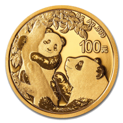 Gouden Panda 8 gram 2021