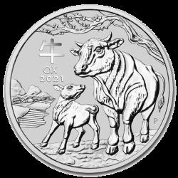 Zilveren Lunar 1 OZ 2021
