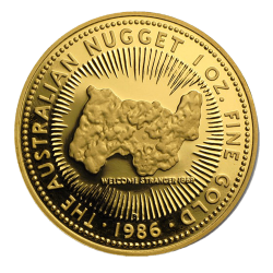 Gouden Nugget 1 OZ willekeurig jaar