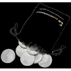 1 KG+ puur zilveren 50 Gulden munten Nederland diverse jaren