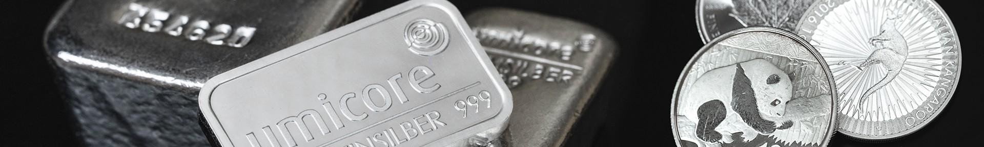 Koop uw zilverbaren bij Goudwisselkantoor